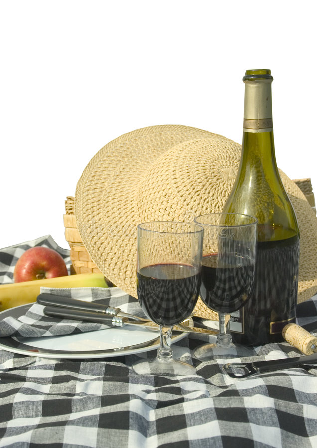Download Picnic stock image. Image of recreation, romantic, wine - 117795