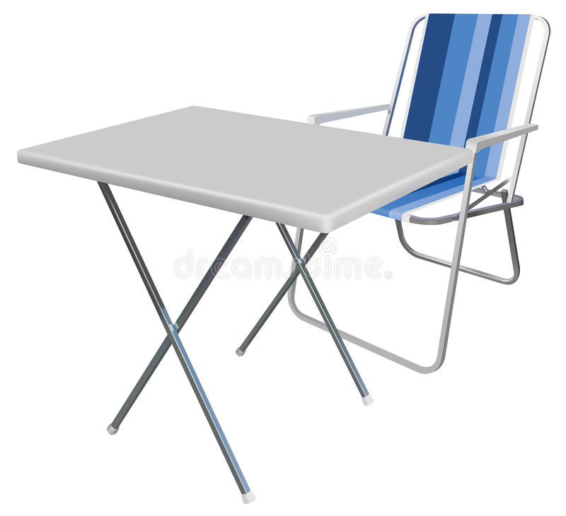 Download Picnic stock illustration. Illustration of chair, background - 17648278