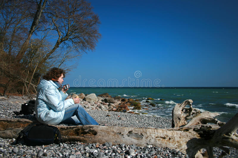 Download Picnic stock photo. Image of woman, picnic, wander, wanderer - 22989238