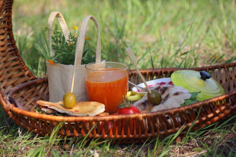 Download Picnic stock image. Image of dinner, backdrop, summer - 24805773