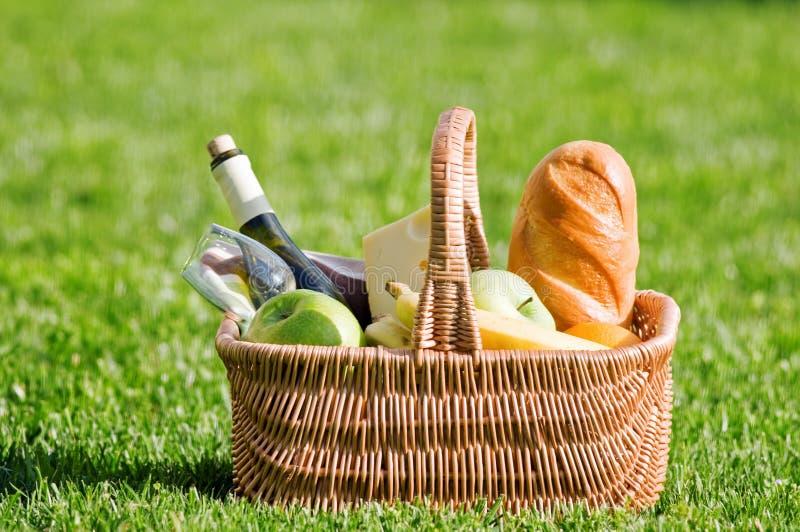 Download Picnic stock photo. Image of dinner, glass, banana, park - 25786534