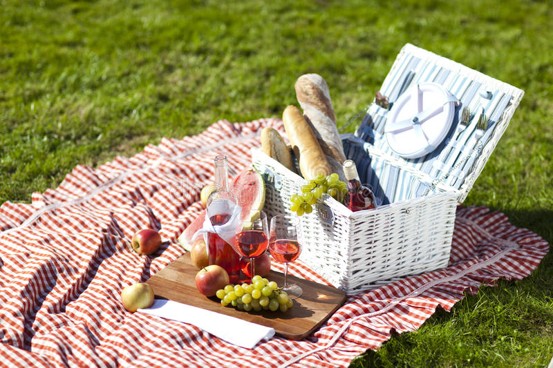 Download Picnic! stock image. Image of blanket, cheese, nobody - 26620291