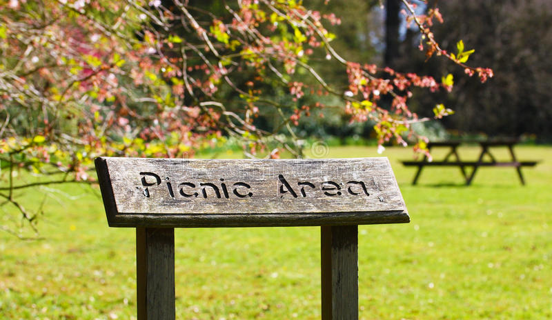 Download Picnic Area stock photo. Image of picnic, seat, message - 19119674