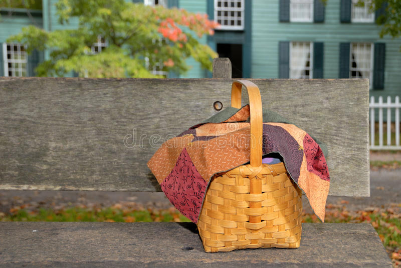 Download Picnic Basket stock image. Image of wicker, outdoors - 13190169