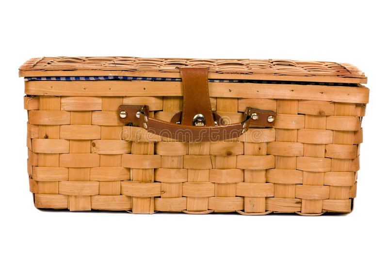 Download Picnic Basket stock image. Image of park, fabric, leather - 1830075