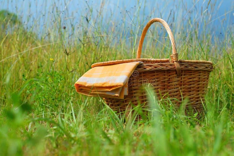 Picnic Basket Stock Photography