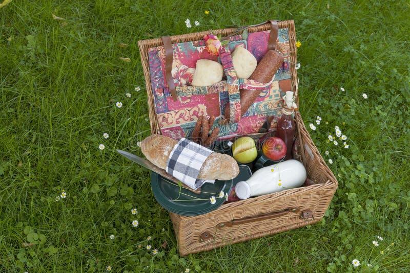 Download Picnic basket stock photo. Image of bread, breakfast - 25248210