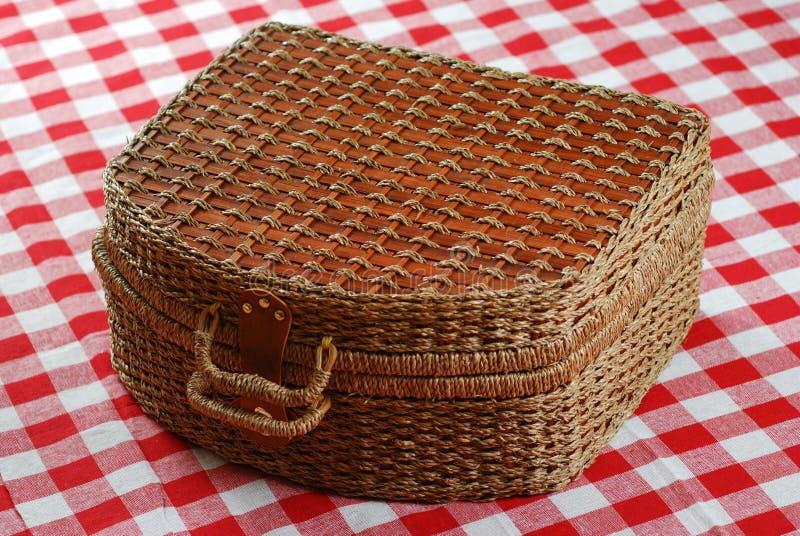 Download Picnic basket stock photo. Image of picnic, travel, plaid - 2560688