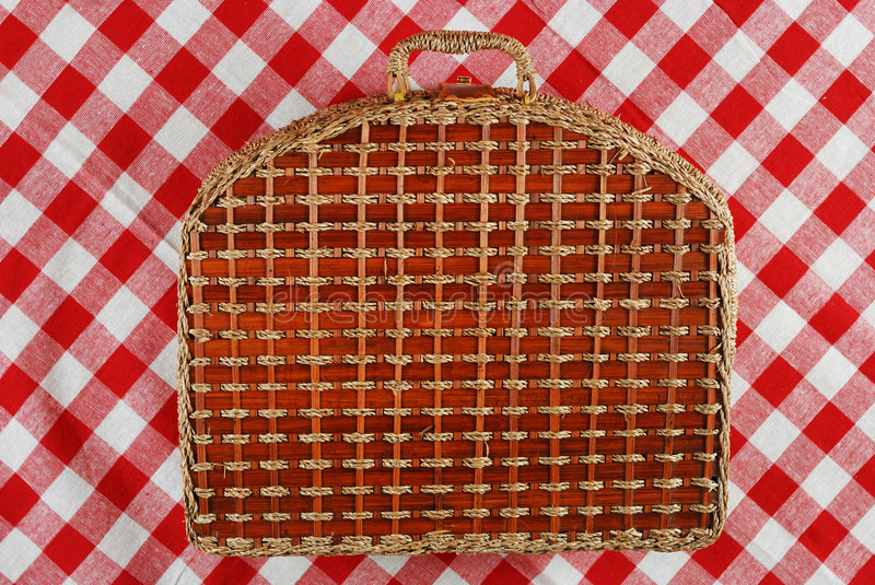 Download Picnic basket stock photo. Image of square, background - 2618906