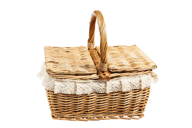 Download Picnic basket stock photo. Image of cloth, outdoors, lunch - 26332536