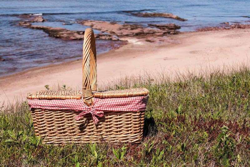 Download Picnic Basket stock photo. Image of rocky, canada, coast - 27170330