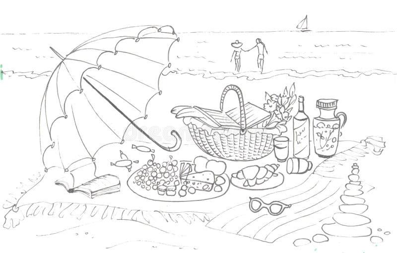 Picnic Beach Stock Illustrations 4 419 Picnic Beach Stock Illustrations Vectors Clipart Dreamstime