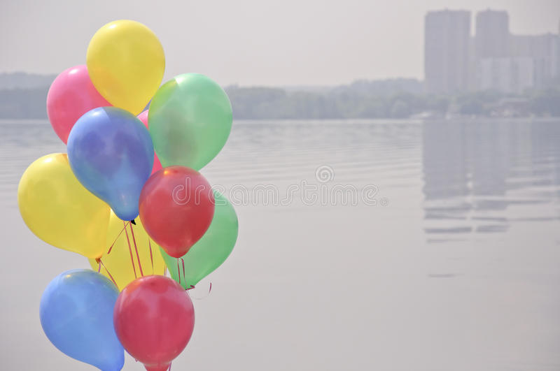 Download Balloons stock photo. Image of summer, nobody, park, lunch - 39505592
