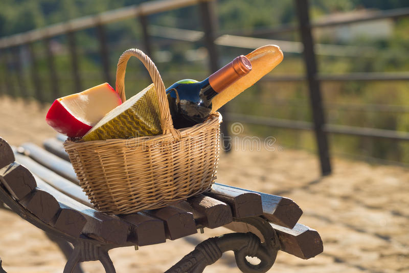 Download Picnic bench stock image. Image of bread, drink, break - 29097353