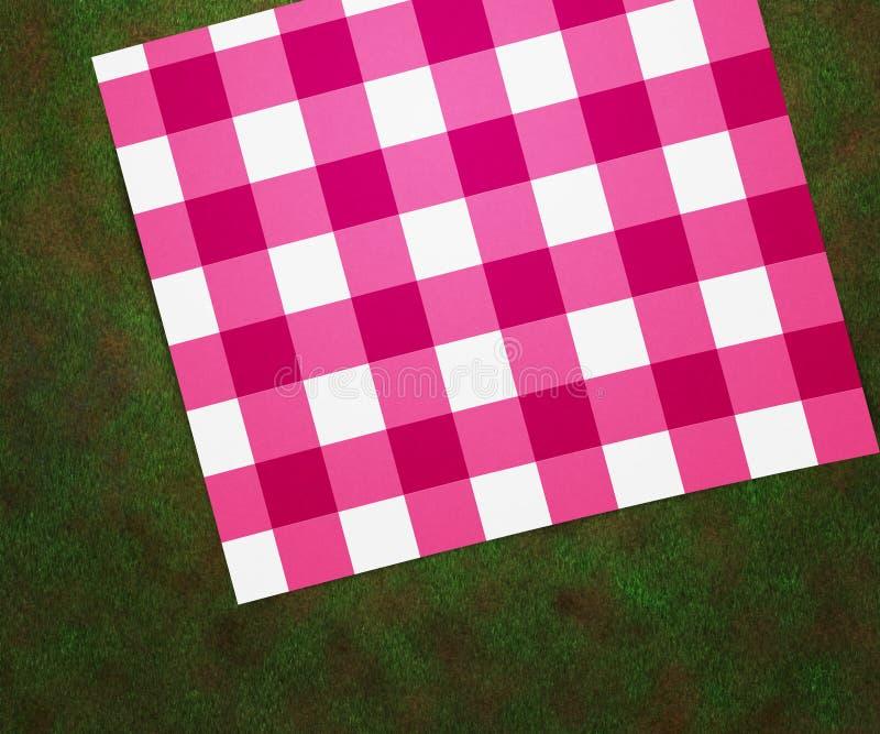 Download Picnic Blanket stock illustration. Image of drapery, linen - 25049673