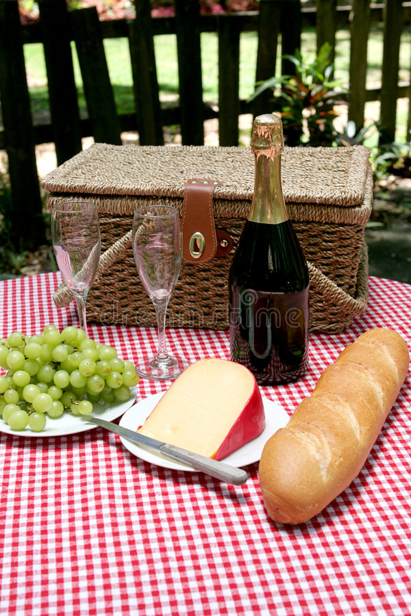 Picnic In The Country stock photography