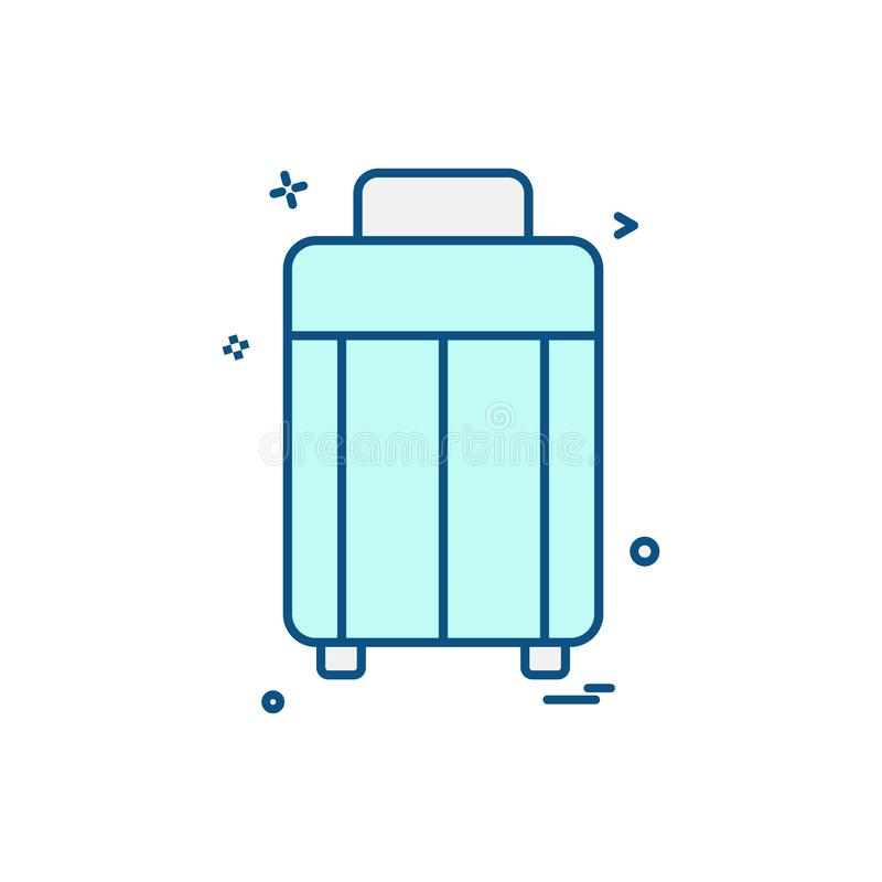 Picnic icon design vector. This Vector EPS 10 illustration is best for print media, web design, application design user interface and infographics with well stock illustration