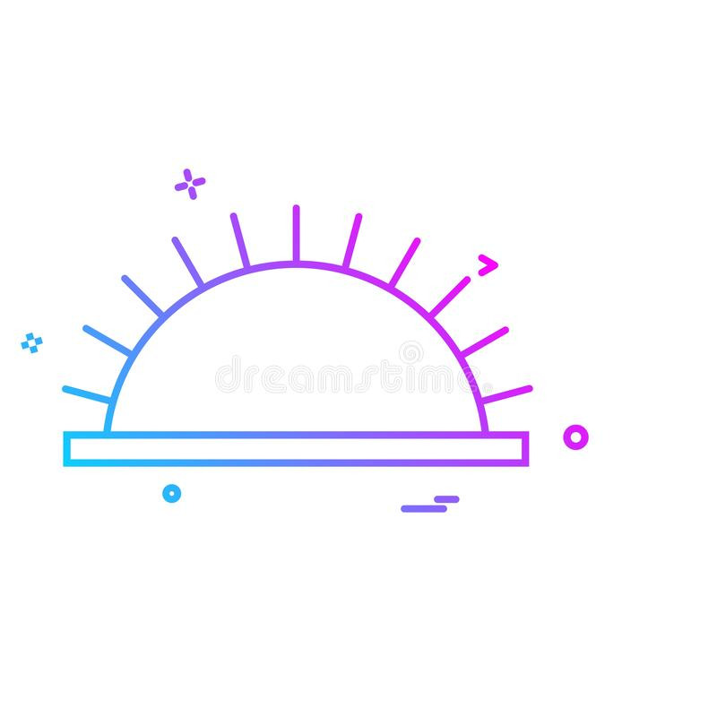 Picnic icon design vector. This Vector EPS 10 illustration is best for print media, web design, application design user interface and infographics with well royalty free illustration