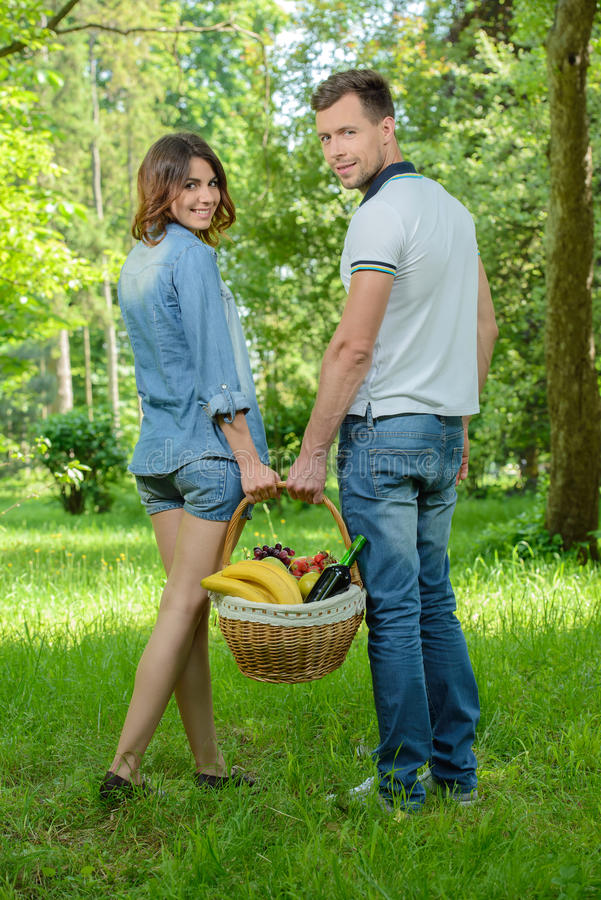 Download Picnic stock image. Image of drink, boyfriend, outdoor - 41775147