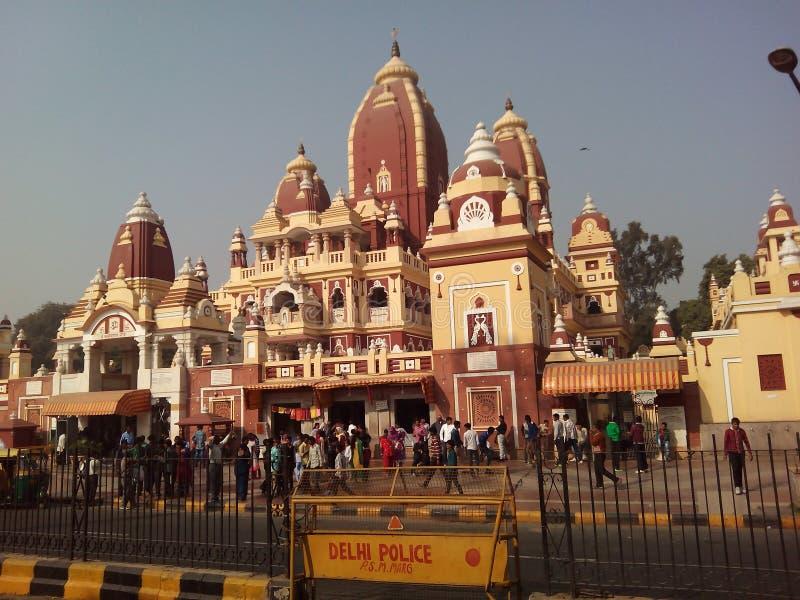 Picnic a Nuova Delhi fotografia stock
