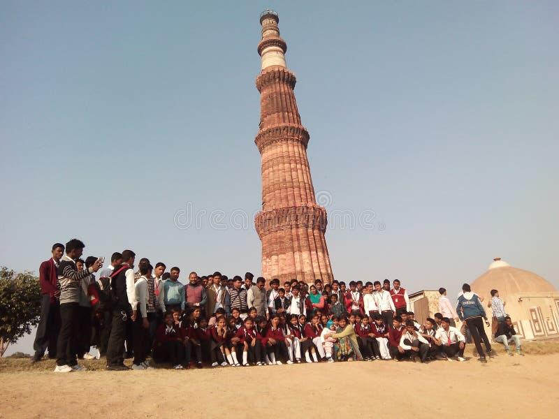 Picnic a Nuova Delhi fotografia stock libera da diritti