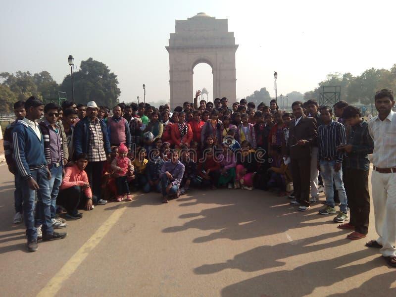 Picnic a Nuova Delhi fotografie stock