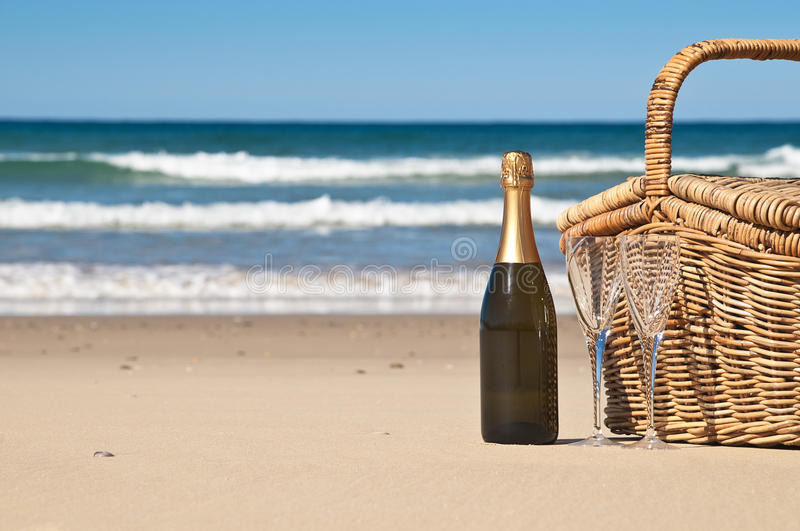 Download Picnic By The Ocean Royalty Free Stock Image - Image: 24992386