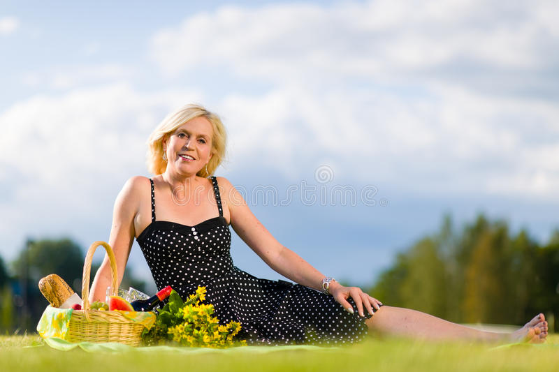 Download Picnic place stock photo. Image of crib, enjoying, afternoon - 26226044