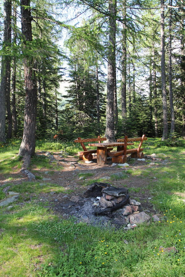 Download Picnic site stock photo. Image of table, summer, leisure - 20531536