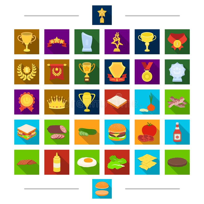 Picnic, sport, diet and other web icon in cartoon style. Barbecue, rest, treats, icons in set collection. stock illustration