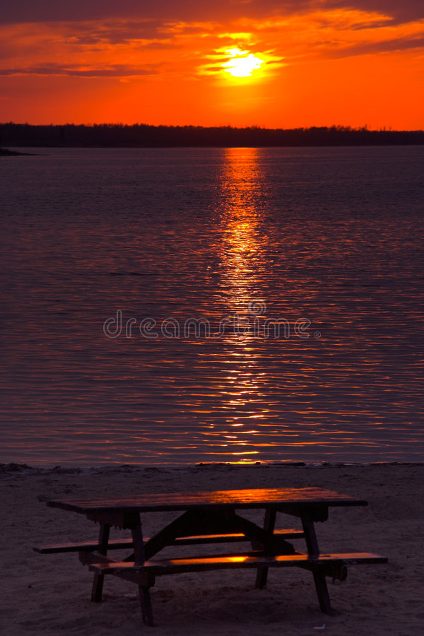 Free Picnic Sunset Stock Photos - 413223