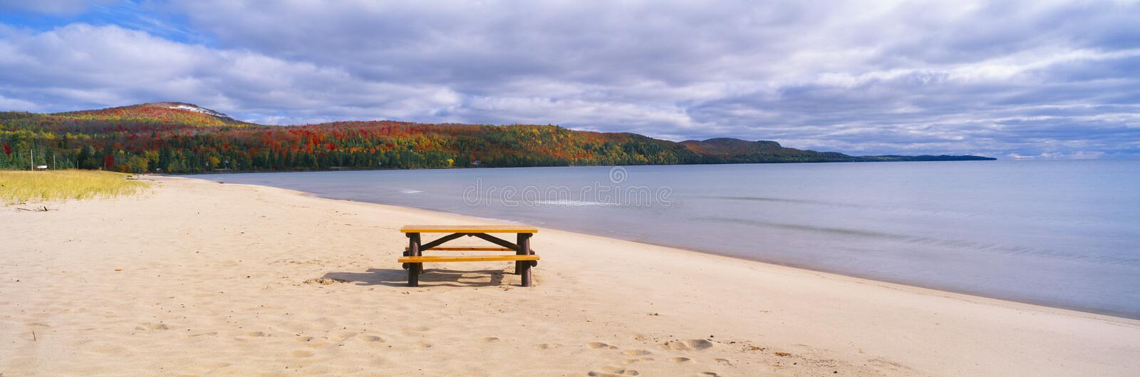 Download Picnic table stock photo. Image of midwest, ecosystem - 23171746