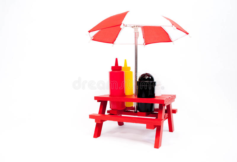 Download Picnic Table Condiments Royalty Free Stock Photo - Image: 23997305