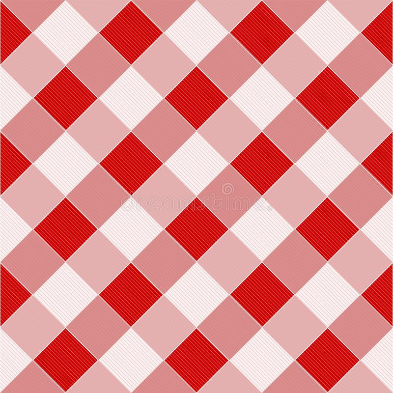 Download Picnic tablecloth pattern stock illustration. Image of dinner - 21725341