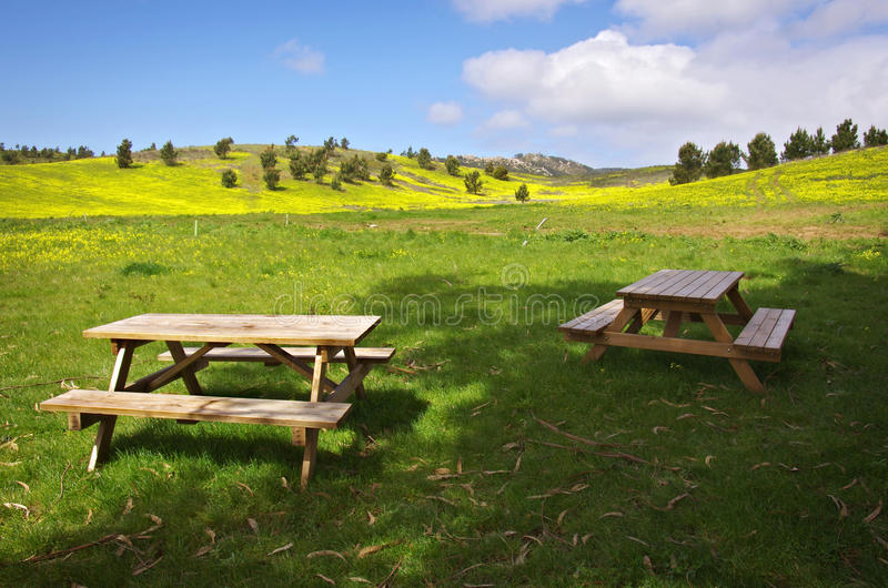 Download Picnic Tables Stock Photography - Image: 19070562