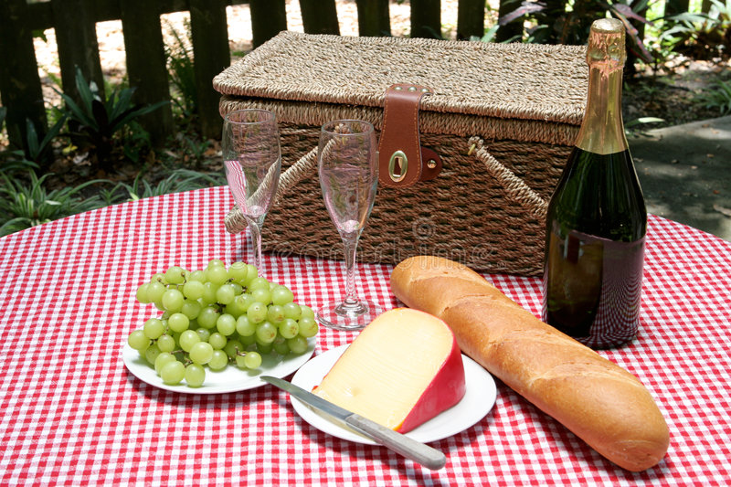 Download Picnic For Two Horizontal Stock Image - Image: 829031