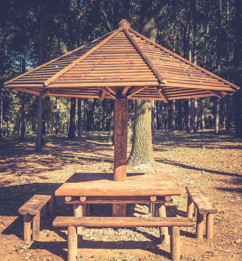 Miraculous Camp Site With Picnic Table Outdoor Stock Image Image Of Unemploymentrelief Wooden Chair Designs For Living Room Unemploymentrelieforg
