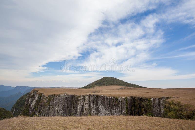 Pico做Monte黑人,在RS状态的高山 库存照片
