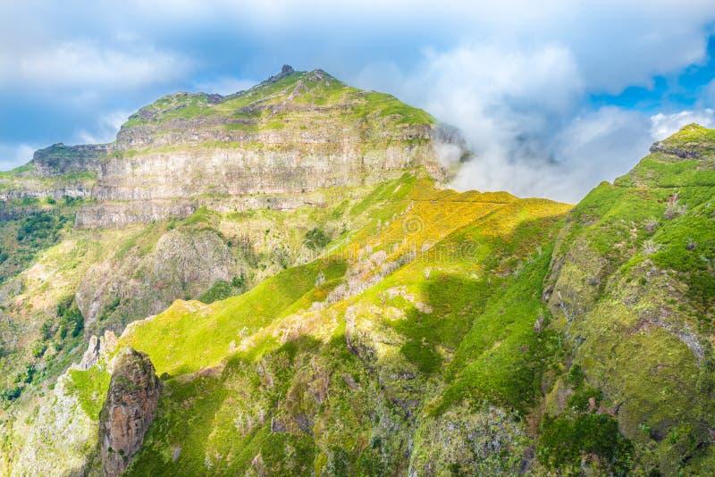Pico большое, остров Мадейры, Португалия стоковые фото