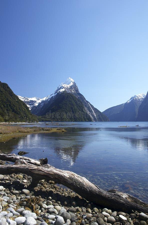 Pico 1 da mitra (NZ) fotografia de stock