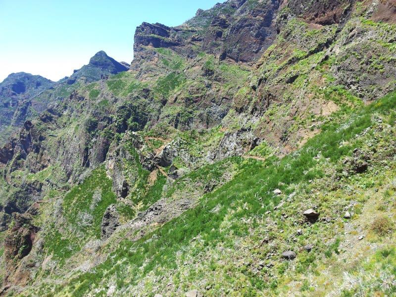 Pico Areeiro royalty-vrije stock afbeeldingen
