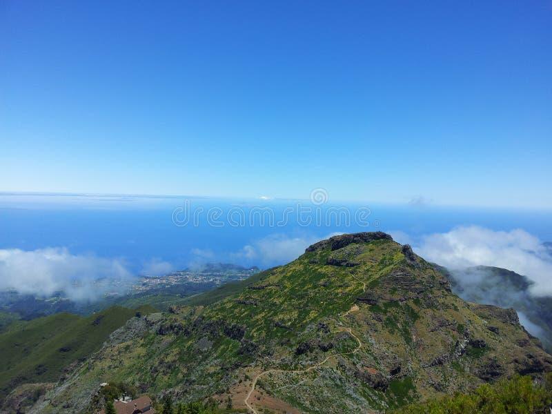 Pico Areeiro stock afbeelding