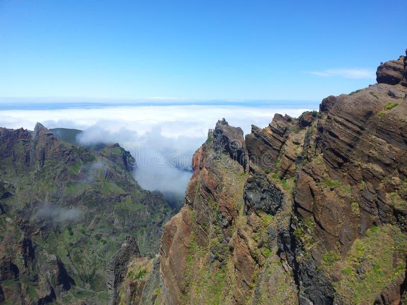 Pico Areeiro royalty-vrije stock fotografie
