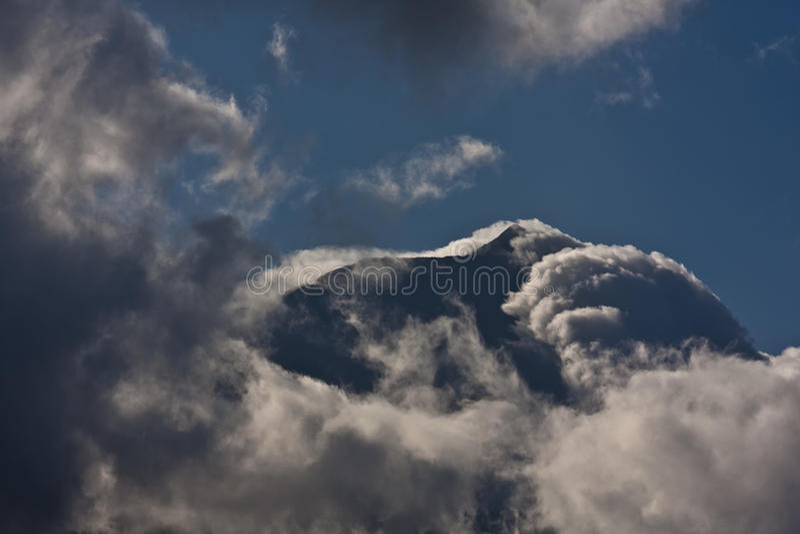 Pico Berg lizenzfreie stockbilder