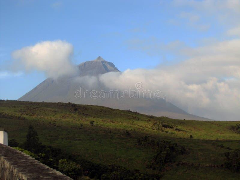 Pico chmurna góra obraz stock