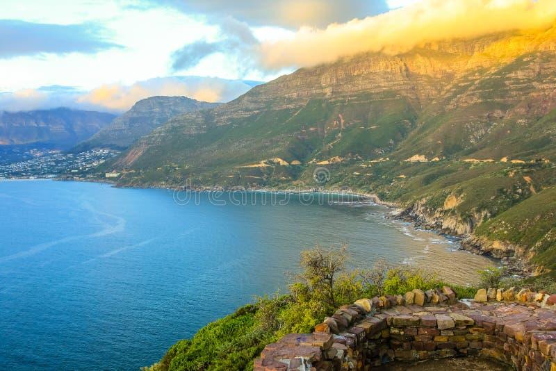 Pico Ciudad del Cabo del ` s del buhonero fotografía de archivo libre de regalías