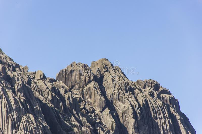 Pico de agulhas pretas Itatiaia fotos de stock royalty free