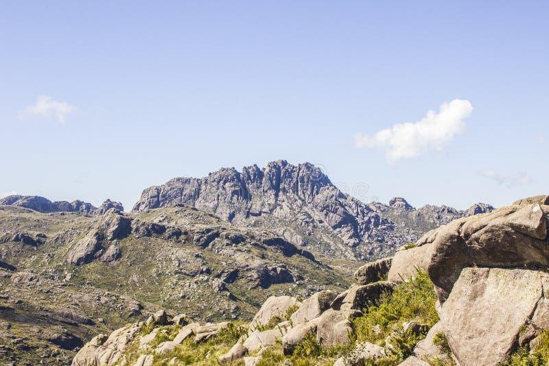 Pico de agulhas pretas Itatiaia fotos de stock