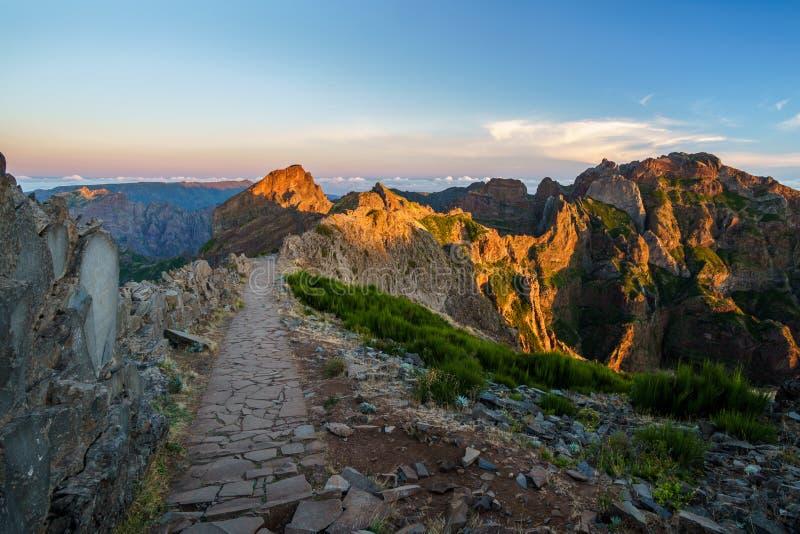 Pico de Aireiro royaltyfria bilder