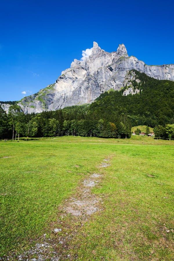 Pico de alta montaña foto de archivo